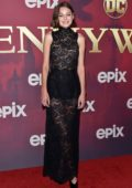 Emma Corrin attends the Premiere of Epix's 'Pennyworth' in Los Angeles