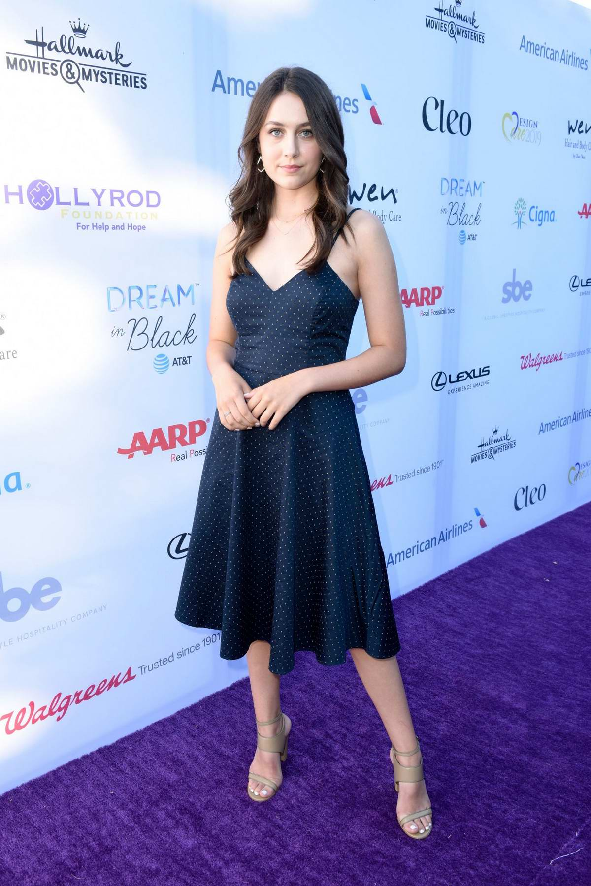 Emma Fuhrmann attends the HollyRod Foundation's 21st Annual DesignCare Gala in Malibu, California