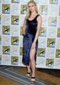 Erin Moriarty attends Amazon's 'The Boys' TV show photocall during 2019 Comic-Con in San Diego, California