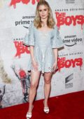 Erin Moriarty attends the screening of 'The Boys' during 2019 Comic-Con International in San Diego, California