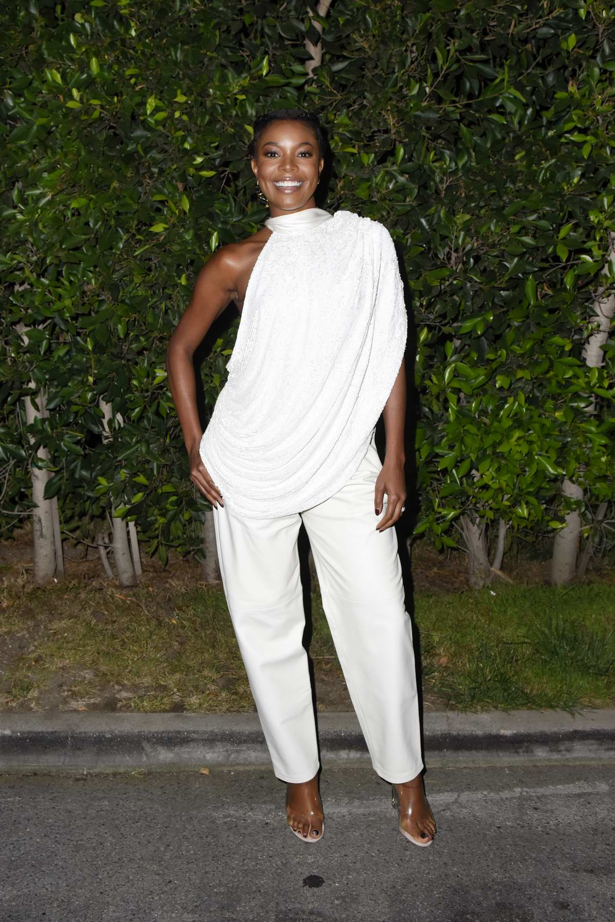 Gabrielle Union attends Cinespia's Screening Of 'Bring It On' at The Hollywood Forever Cemetery in Hollywood, California