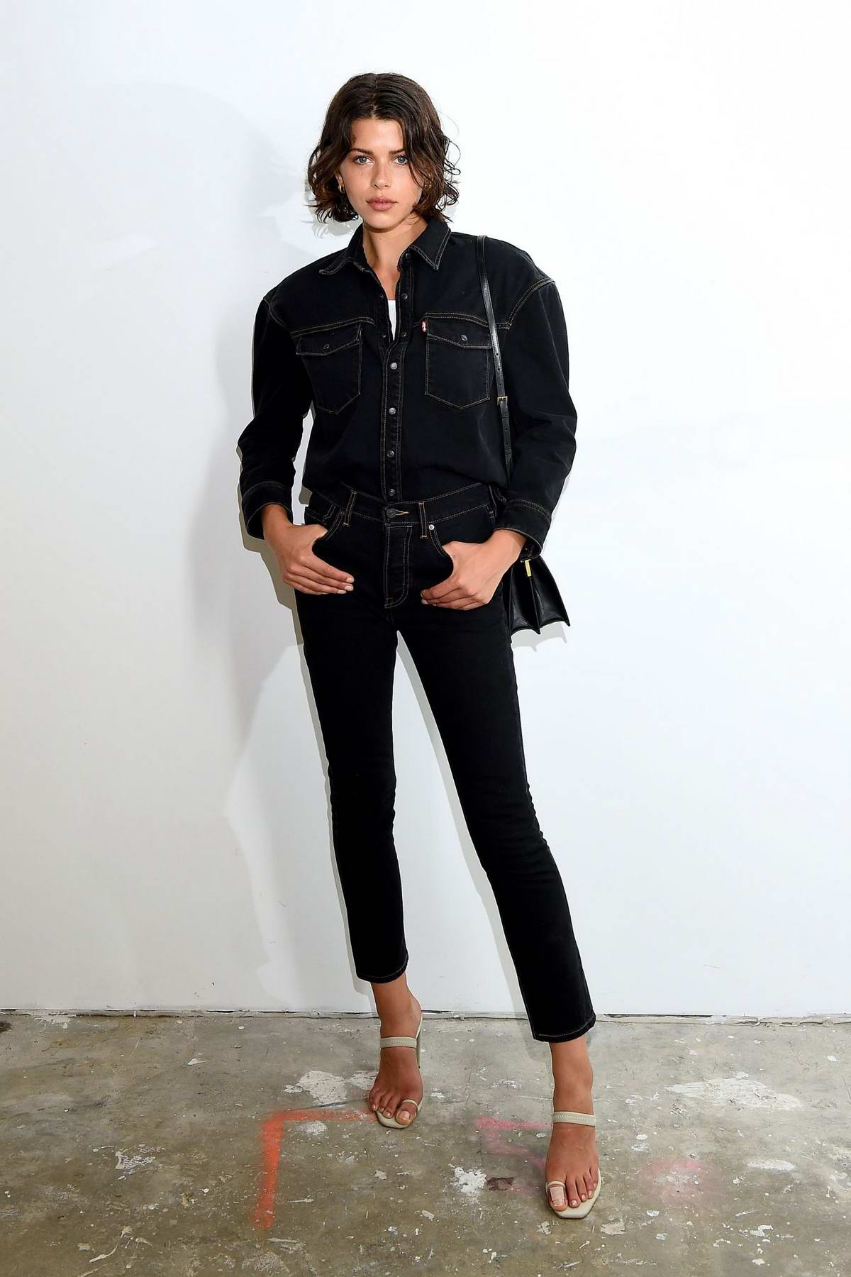 Georgia Fowler attends Wardrobe.NYC launch of Release 04 DENIM & Levi's Collaboration in New York City