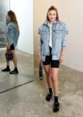 Gigi Hadid attends Wardrobe.NYC launch of Release 04 DENIM & Levi's Collaboration in New York City