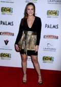 Hayley Orrantia attends the 11th Annual World Mixed Martial Arts Award at Palms Resort Casino in Las Vegas, Nevada