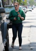 Hilary Duff spotted while shopping at Barnes & Noble in Studio City, Los Angeles