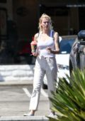 Ireland Baldwin and Corey Harper are spotted grabbing a Slurpee from 7-Eleven in Los Angeles