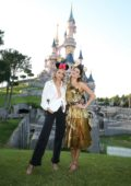 Isabeli Fontana and Candice Swanepoel attend as CHAOS Hosts True Originals Party at Disneyland Paris, France