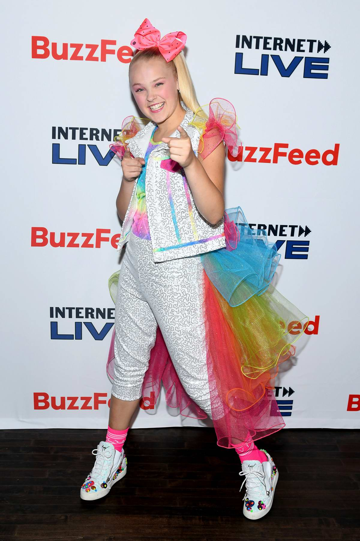 JoJo Siwa attends the Internet Live By BuzzFeed at Webster Hall in New York City
