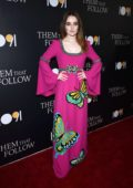 Kaitlyn Dever attends the premiere of 'Them That Follow' at the Landmark Theater in Los Angeles