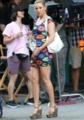 Kate Hudson spotted filming her new movie 'Mona Lisa And The Blood Moon' in New Orleans, Louisiana