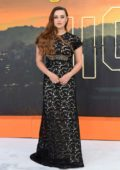Katherine Langford attends the UK Premiere of 'Once Upon a Time in Hollywood' in London, UK