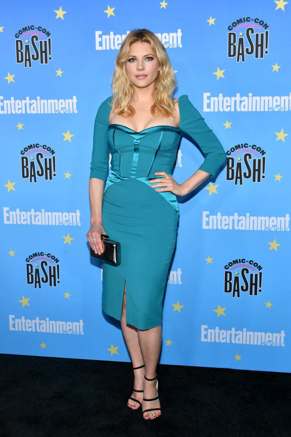 Katheryn Winnick attends Entertainment Weekly's 2019 Comic-Con Bash held at FLOAT, Hard Rock Hotel in San Diego, California