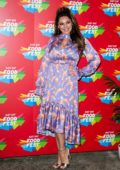 Kelly Brook attends the VIP launch of Just Eat Food Fest Taste Adventure at 93 Feet East, Shoreditch in London, UK
