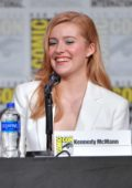 Kennedy McMann attends the 'Nancy Drew' panel during 2019 Comic-Con International at San Diego Convention Center in San Diego