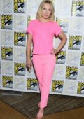 Kristen Bell attends 'The Good Life' press line during 2019 Comic-Con International in San Diego, California