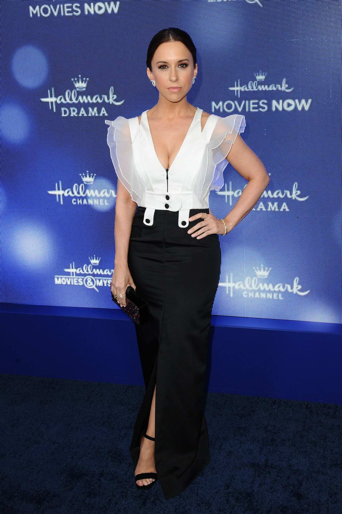 Lacey Chabert attends Hallmark Movies & Mysteries Summer TCA Press Tour Event in Beverly Hills, Los Angeles