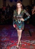 Larsen Thompson attends Zuhair Murad Haute Couture Fall/Winter 2019/20 show during Paris Fashion Week in Paris, France