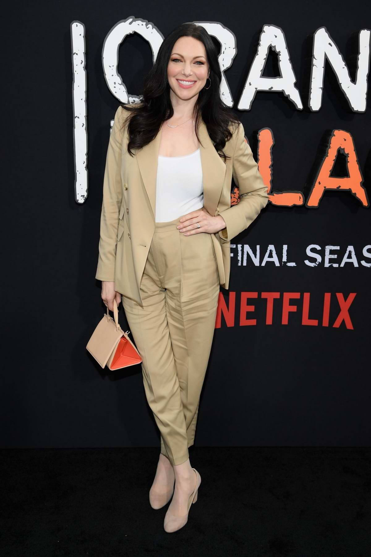 Laura Prepon attends the 'Orange Is The New Black' Final Season World Premiere at Alice Tully Hall, Lincoln Center in New York City