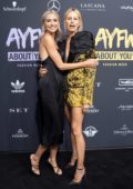 Lena Gercke and Karolina Kurkova attend the ABOUT YOU opening show during the MBFW Spring/Summer 2020 in Berlin, Germany