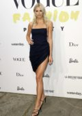 Lena Gercke attends as VOGUE celebrates 40 Years party during MBFW S/S 2020 at KaDeWe in Berlin, Germany