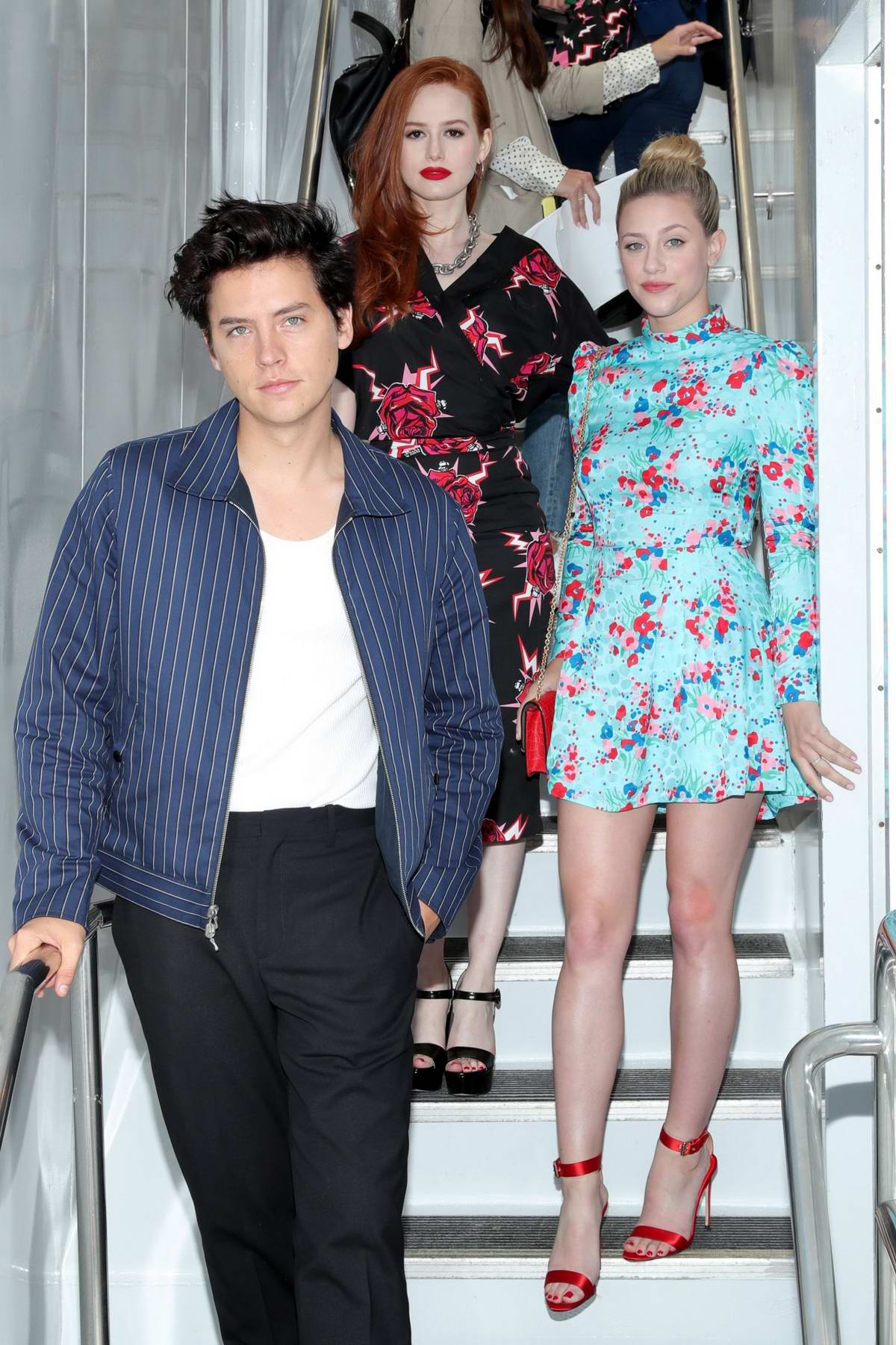 Lili Reinhart and Madelaine Petsch attend the #IMDboat at the IMDb Yacht during 2019 Comic-Con in San Diego, California