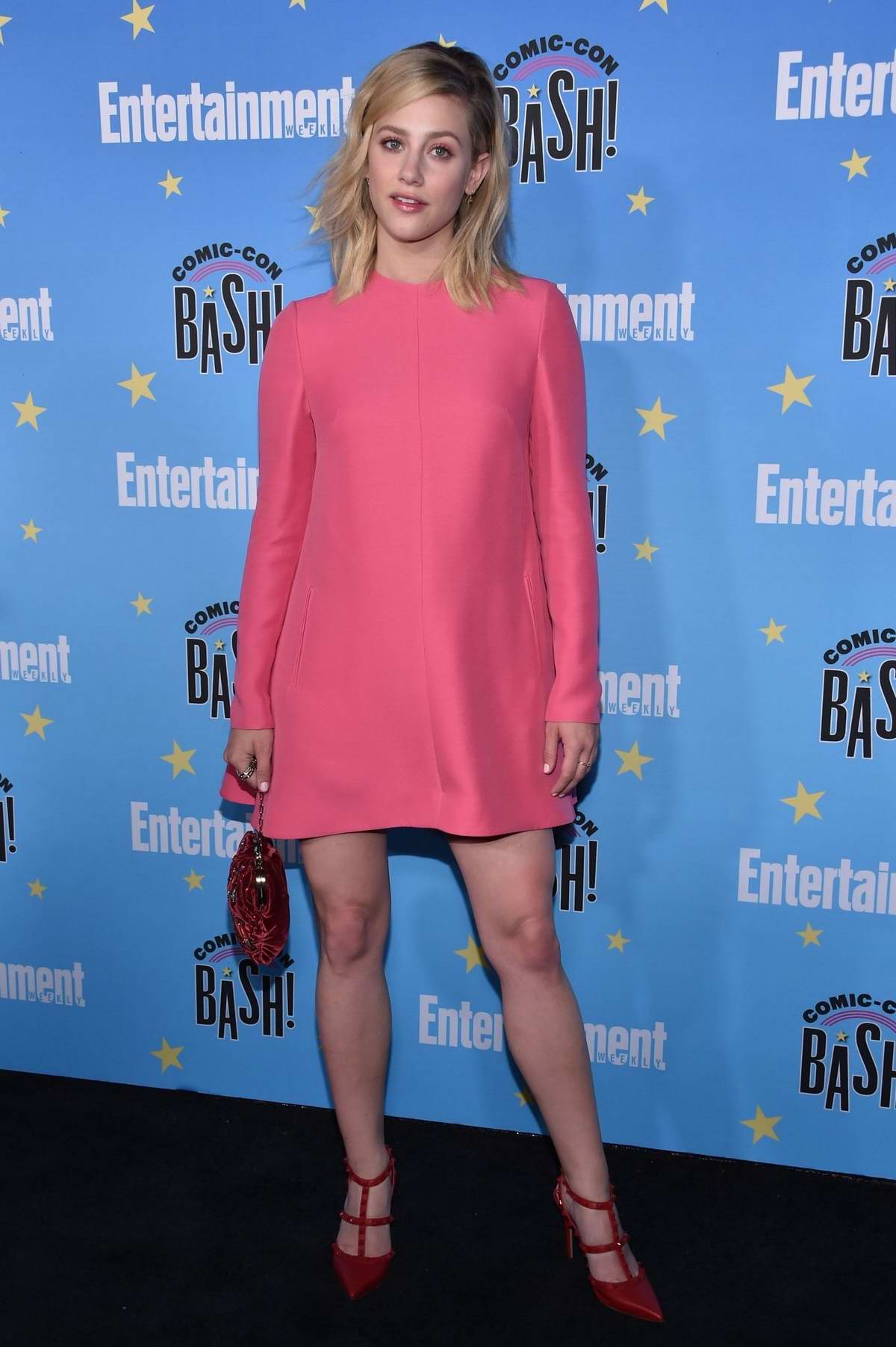 Lili Reinhart attends the Entertainment Weekly 2019 Comic-Con party at the Hard Rock Hotel in San Diego, California