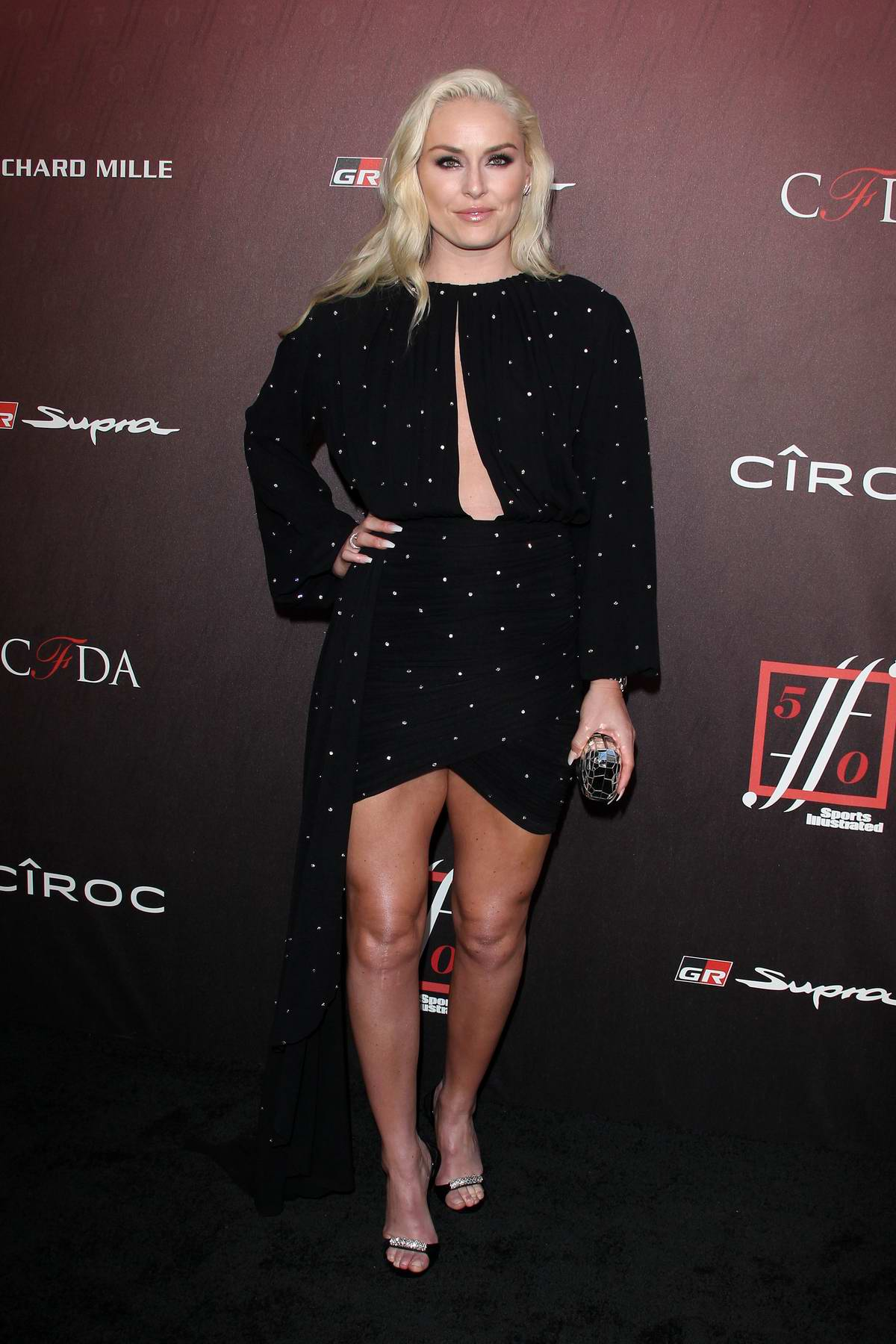Lindsey Vonn attends the 4th Annual Sports Illustrated Fashionable 50 Party in Los Angeles