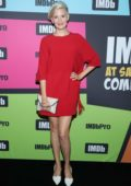 Maggie Grace attends the #IMDboat at the IMDb Yacht during 2019 Comic-Con in San Diego, California