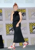 Maisie Williams attends the 'Game of Thrones' Panel and Q&A during 2019 Comic-Con International in San Diego, California