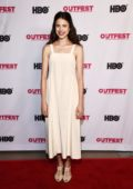 Margaret Qualley attends the Centerpiece Screening of 'Adam' during the Outfest LGBTQ Film Festival in Los Angeles