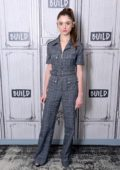 Natalia Dyer visits Build Series to discuss the series 'Stranger Things' at Build Studio in New York City
