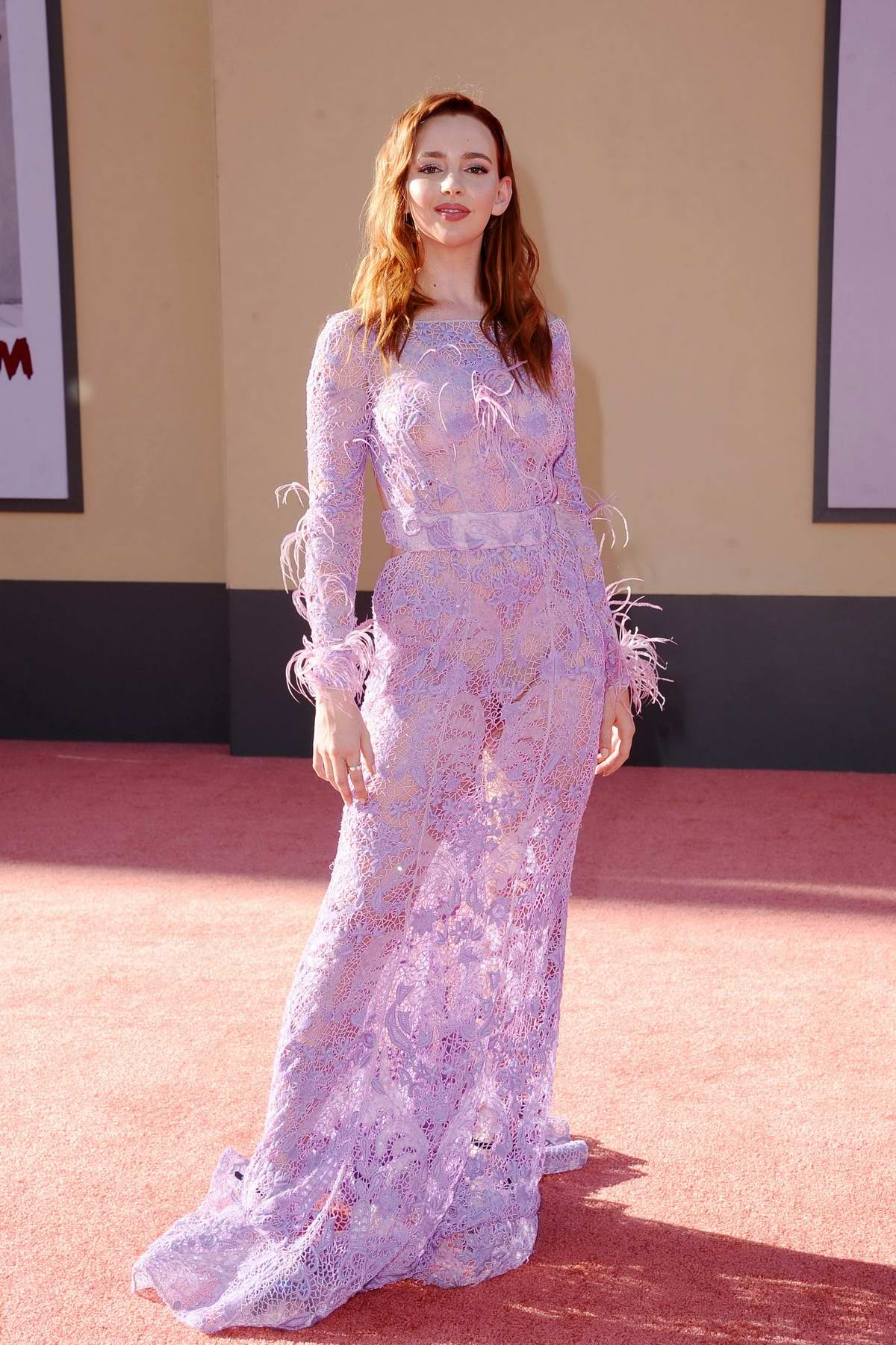 Natasha Bassett attends the Los Angeles Premiere of 'Once Upon a Time in Hollywood' in Hollywood, California