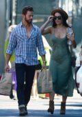 Nikki Bella and Artem Chigvintsev go grocery shopping together in Los Angeles