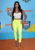 Nikki Bella attends the 2019 Nickelodeon Kids' Choice Sports Awards in Los Angeles