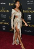 Normani attends the premiere of Disney's 'The Lion King' at Dolby Theatre in Hollywood, California