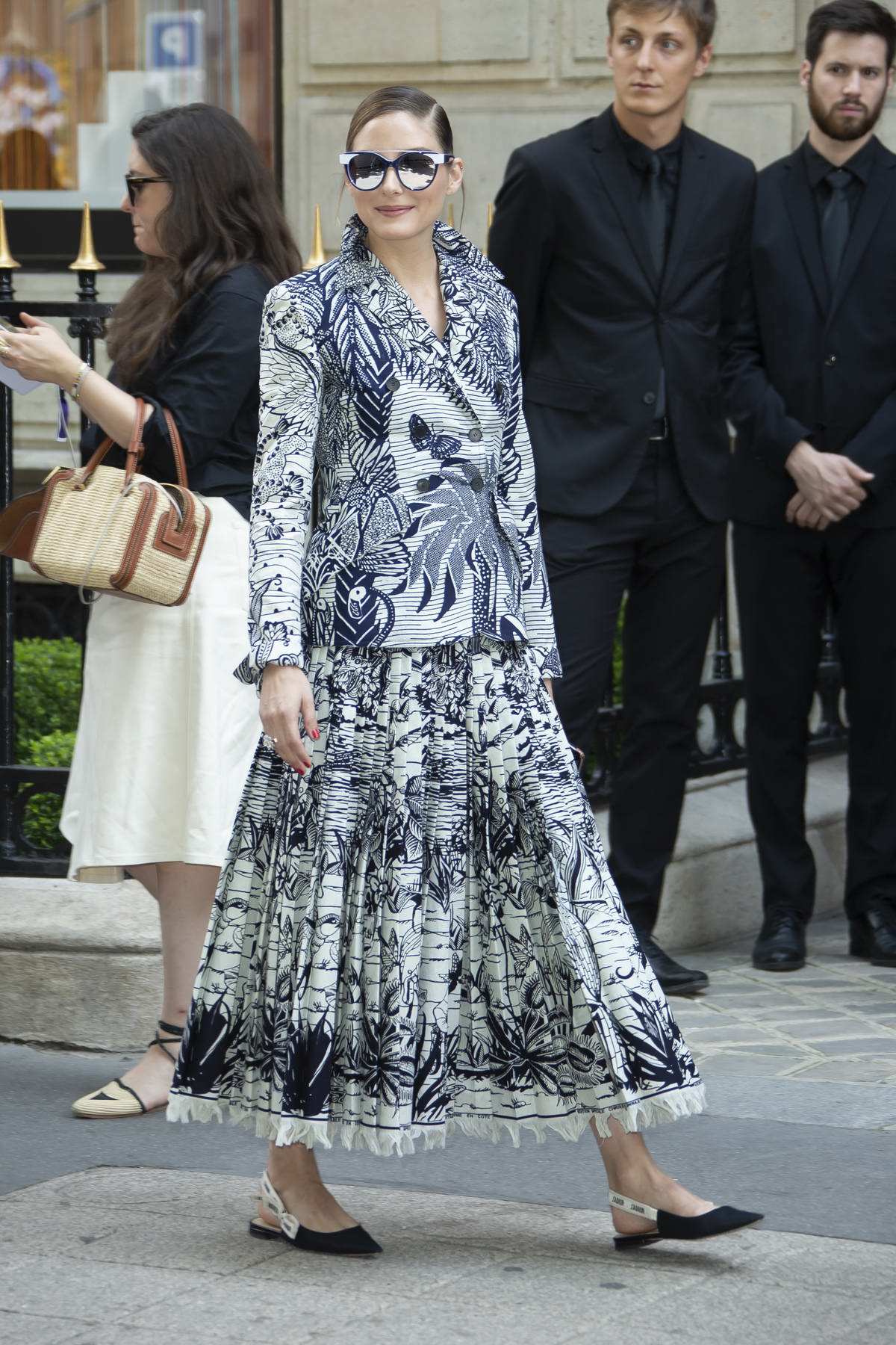 Olivia Palermo attends the Christian Dior Haute Couture Fall/Winter 2019/20 show during Paris Fashion Week in Paris, France