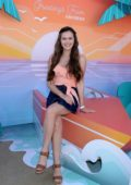 Olivia Sanabia attends Instagram's 3rd Annual Instabeach Party in Pacific Palisades, California