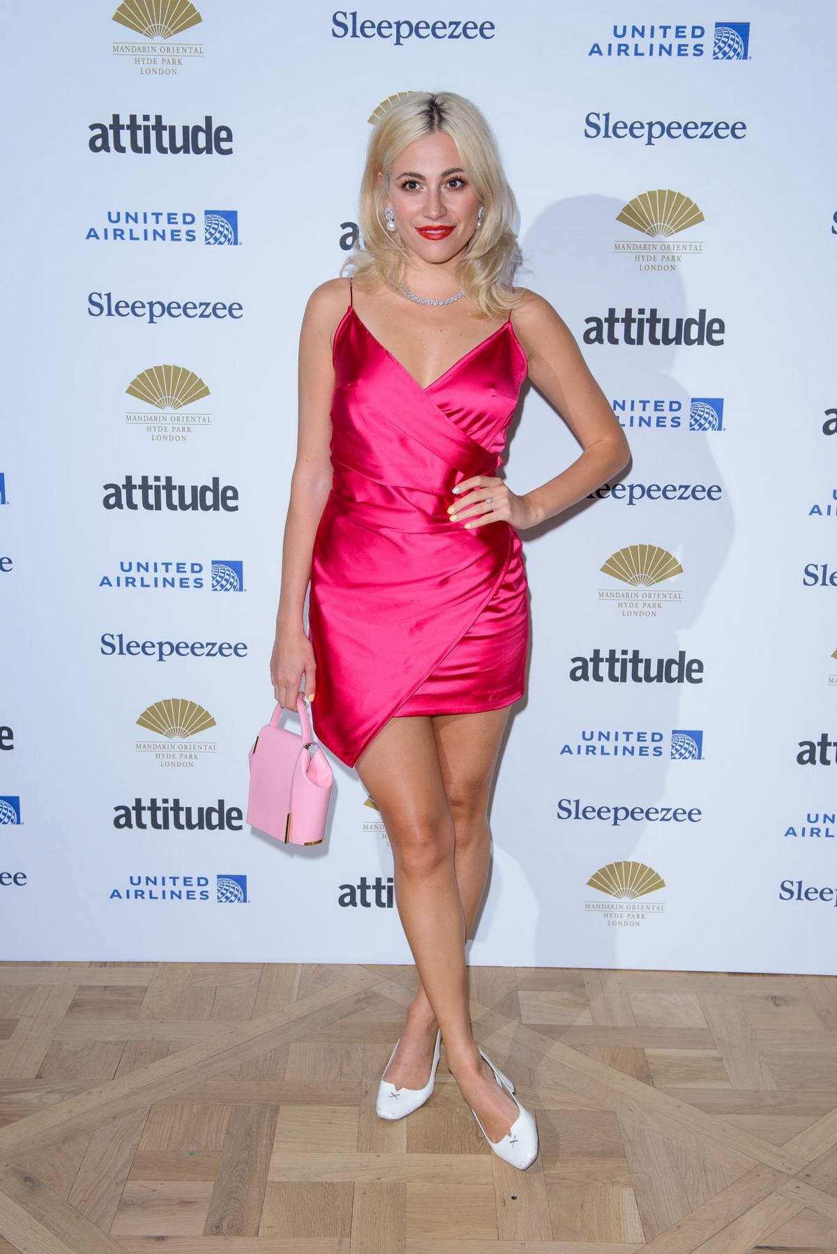 Pixie Lott attends the Attitude Pride Awards at Mandarin Oriental Hotel in London, UK