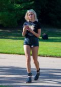 Pixie Lott attends the House Festival at Hampstead Heath in London, UK