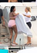 Priyanka Chopra spotted in a pink bikini while enjoying day on a yacht in Miami, Florida