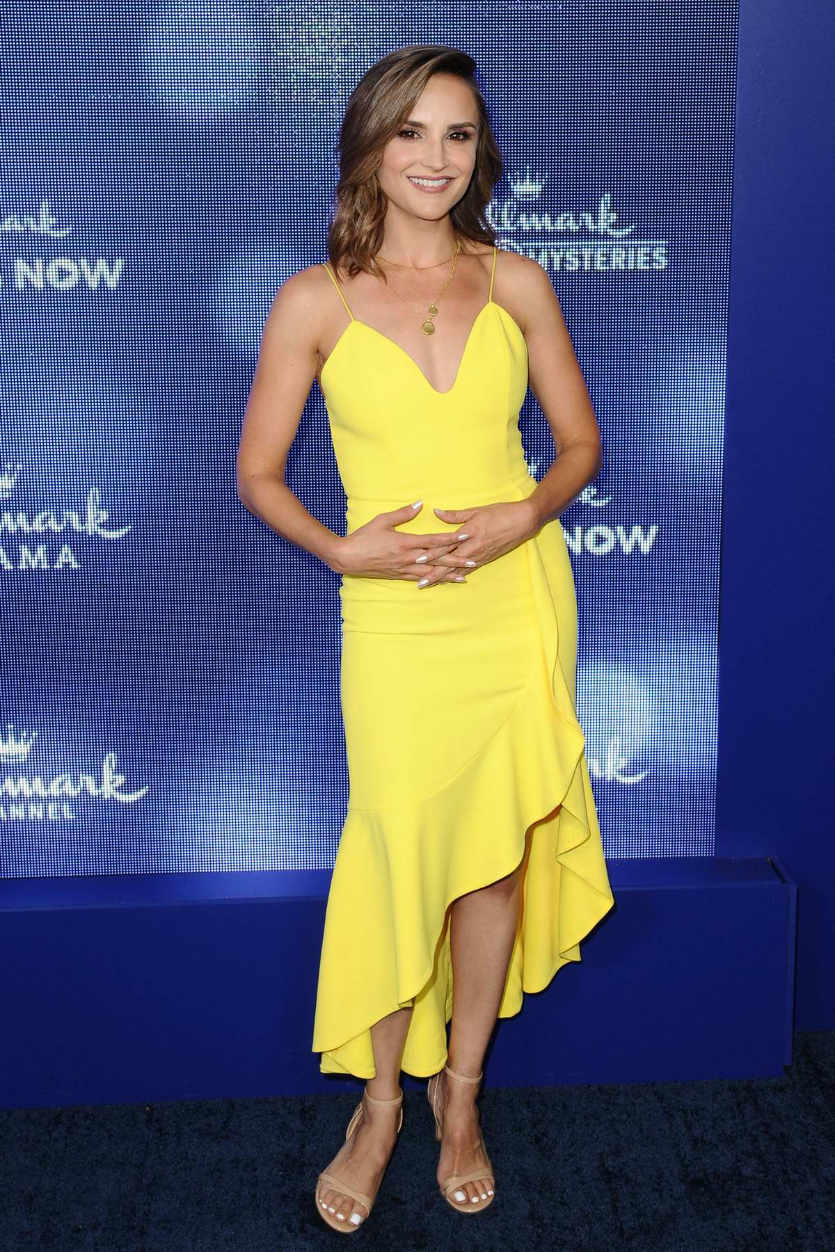 Rachael Leigh Cook attends Hallmark Movies & Mysteries Summer TCA Press Tour Event in Beverly Hills, Los Angeles