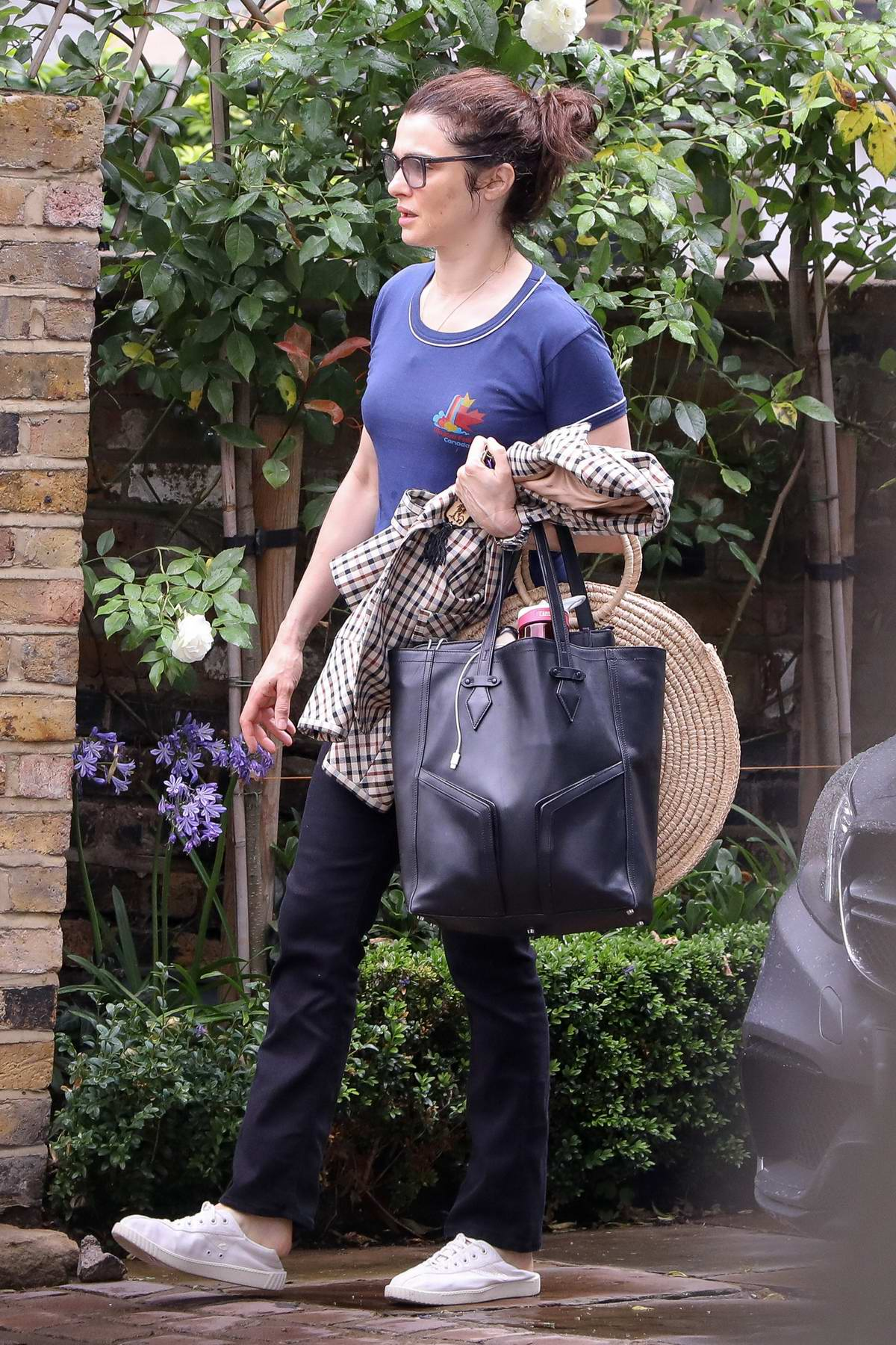 Rachel Weisz seen leaving her home in London, UK