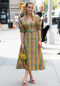 Rebecca Rittenhouse attends Build Series to discuss 'Four Weddings and a Funeral' at Build Studio in New York City