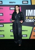 Rosa Salazar attends the #IMDboat at the IMDb Yacht during Day One of 2019 Comic-Con International in San Diego, California