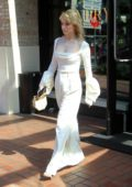 Sarah Bolger looks great in white during 2019 Comic-Con in San Diego, California