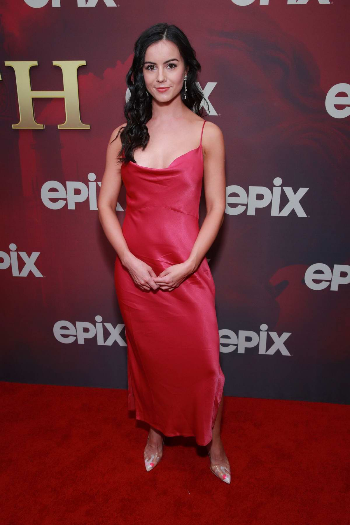 Sarah Elizabeth Withers attends the Premiere of Epix's 'Pennyworth' in Los Angeles
