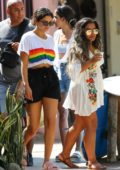 Selena Gomez enjoys a day out with her friends at Sayulita Vilage while on vacation in Punta de Mita, Mexico