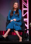 Shay Mitchell attends 'Dollface' Panel during Hulu TCA Summer Press Tour at The Beverly Hilton Hotel in Beverly Hills, Los Angeles
