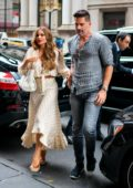 Sofia Vergara and Joe Manganiello enjoy a dinner date at Avra in New York City
