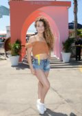 Sofie Dossi attends Instagram's 3rd Annual Instabeach Party in Pacific Palisades, California